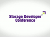 Storage Developer Conference 2015