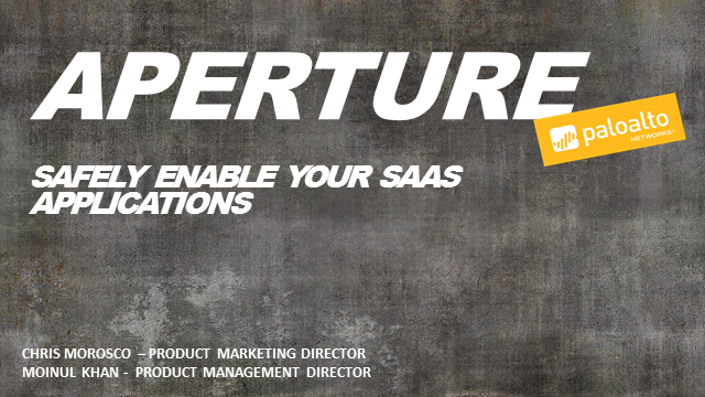 Introducing Aperture, Complete SaaS Security