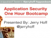 Secure Web Development Bootcamp: SDLC Fundamentals in 60 Minutes