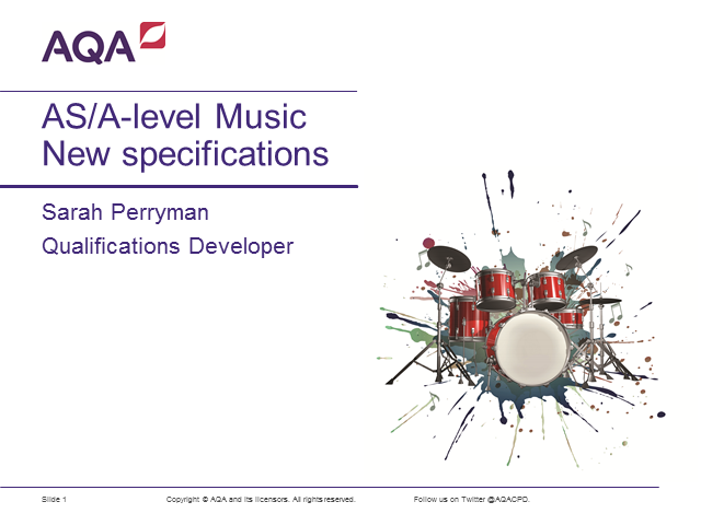 A-level Music: New Specification Launch