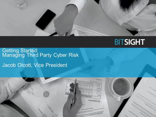 Getting Started on a Third Party Cyber Risk Management Program