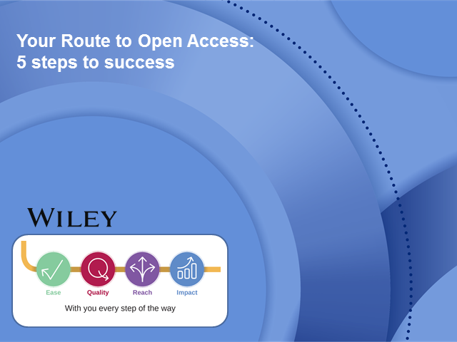 Your Route to Open Access: 5 Steps to Success