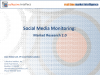Social Media Monitoring:  Market Research 2.0