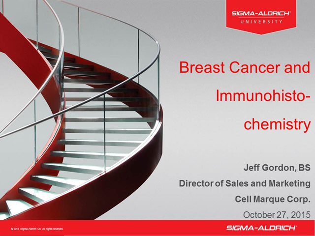 Breast Cancer and Immunohistochemistry