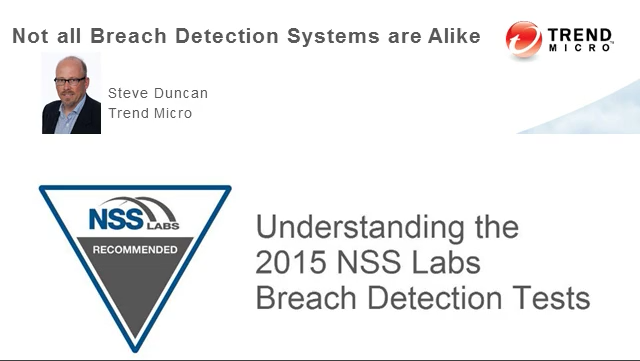 Understanding the 2015 NSS Labs Breach Detection Tests