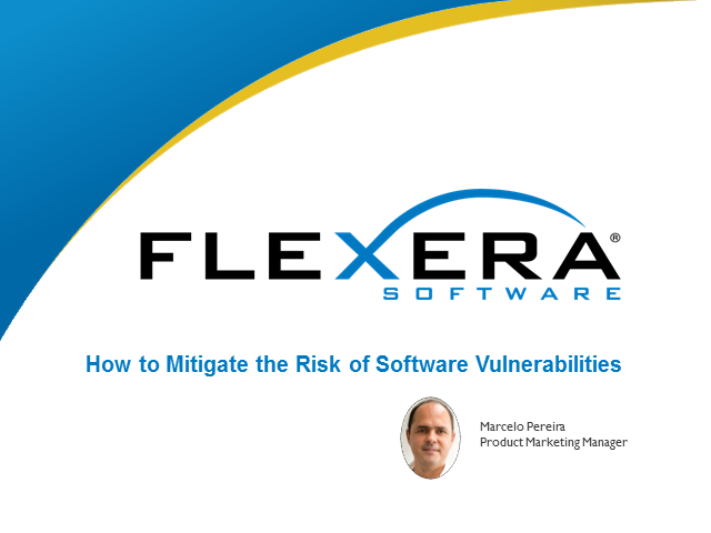 How to Mitigate the Risk of Software Vulnerabilities