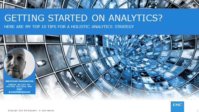 Top 10 Tips for Getting Started with a Holistic Analytics Strategy