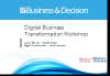 Digital Transformation Workshop: Designing your transformation road-map