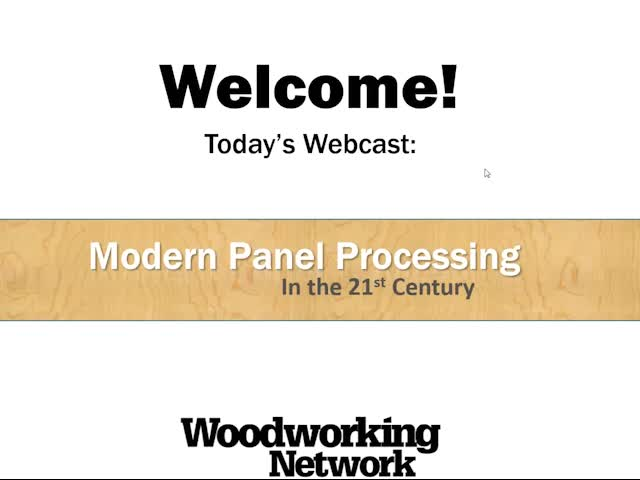 Panel Processing in the 21st Century