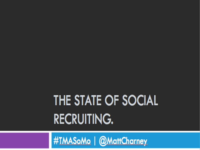 The State of Social Recruiting 2015