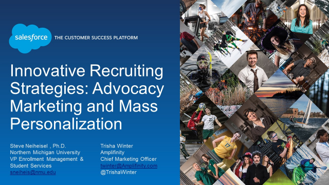 Innovative Recruiting Strategies: Advocacy Marketing and Mass Personalization
