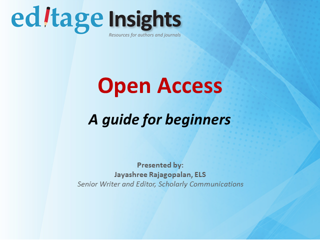 Open access: A beginner's guide