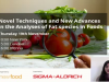 Novel Techniques and New Advances in the Analyses of Fat species in Foods