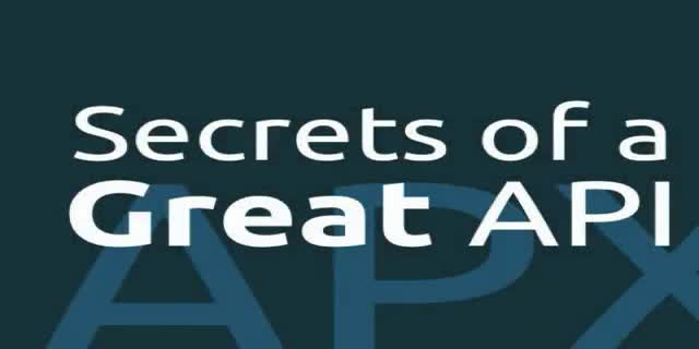 Secrets of a Great API