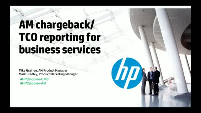AM Chargeback/TCO Reporting for Business Services