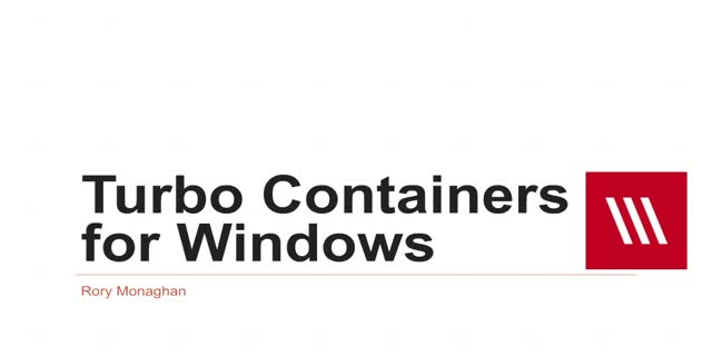 Turbo Containers for Windows