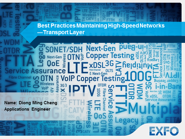 Best Practices for Maintaining High-Speed Networks—Transport Layer
