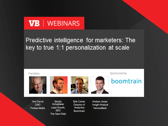Predictive Intelligence for Marketers: 1:1 Personalization at Scale