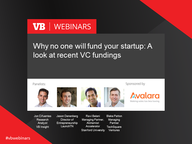 Why no one will fund your startup: A look behind the scenes of VC Q3 2015