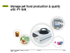 Managing pet food production and quality with FT-NIR