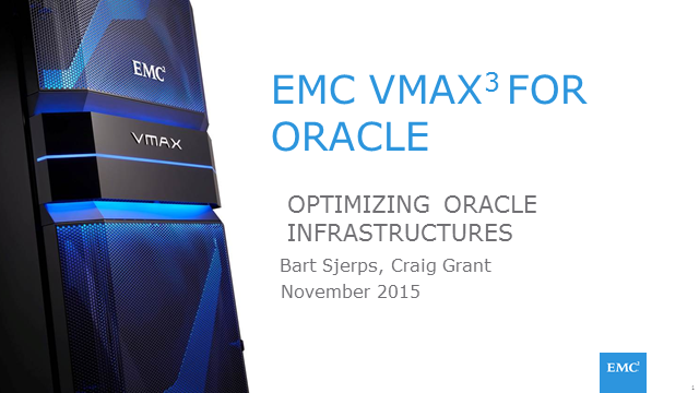 Solving Top Oracle Challenges With Next Generation Enterprise Storage