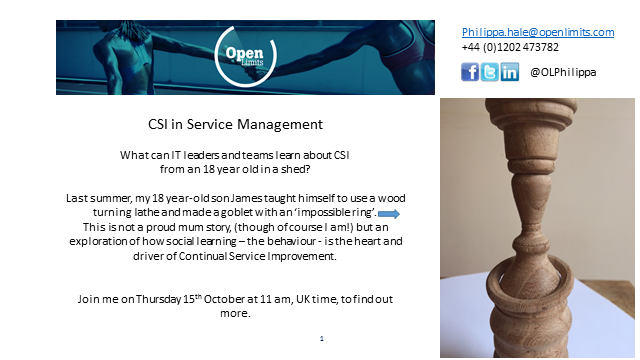 CSI in Service Management
