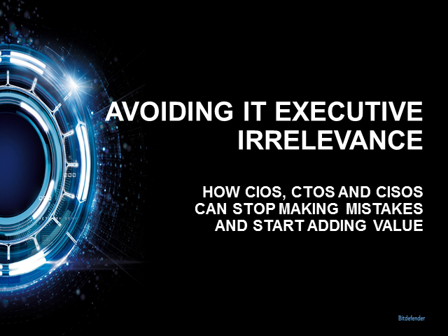 IT Security - managing risk & relevance as an IT Executive