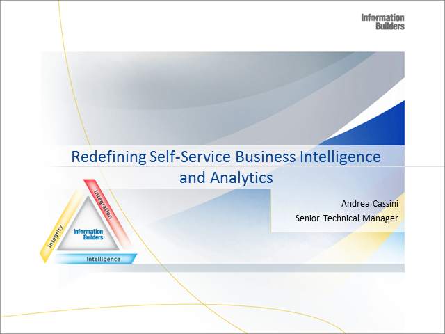 Come ottimizzare la Self Service Analytics