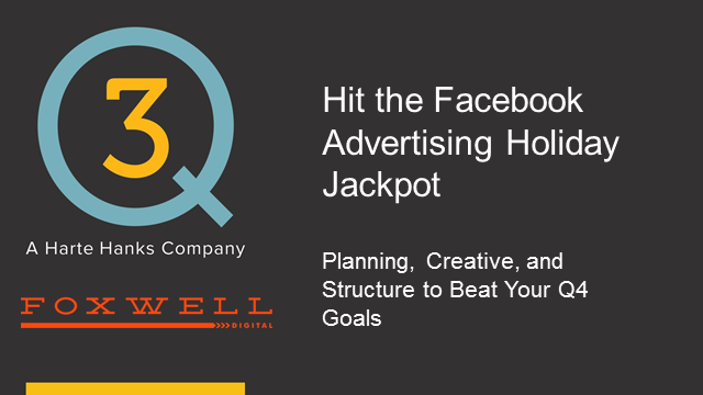 Rock your holiday ROI with Facebook ads