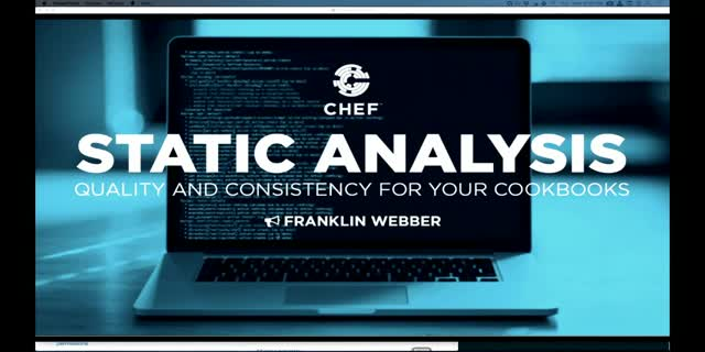 Static Analysis: Improving the quality and consistency of your cookbooks