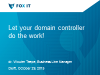 Let your domain controller do the work!