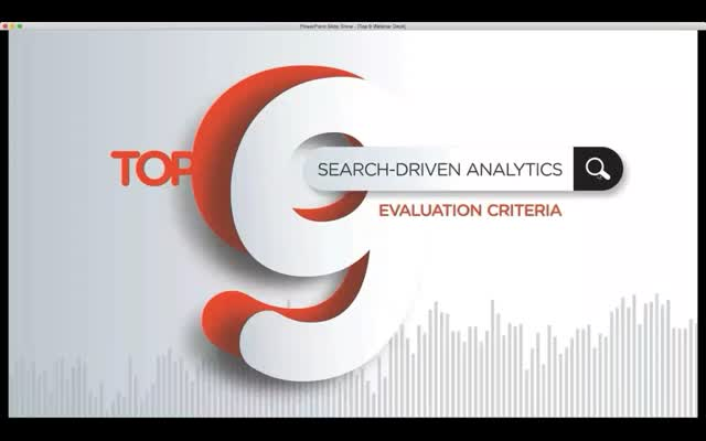 9 Ways to Evaluate Search-Driven Analytics Vendors