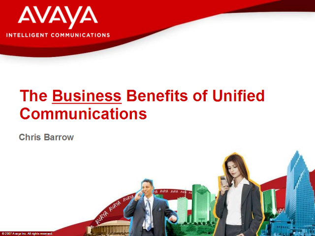 The Business Benefits of Unified Communications