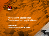 Persistent Storage for Containerized Applications