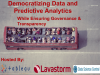Democratizing Data and Predictive Analytics