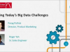 Solving Today's Big Data Challenges