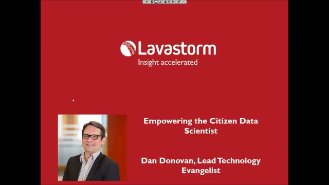 Empowering the Citizen Data Scientist with Self-Service Advanced Analytics