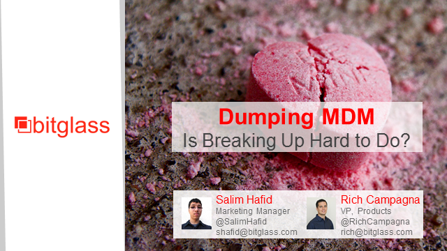 Dumping MDM: Is Breaking Up Hard To Do?