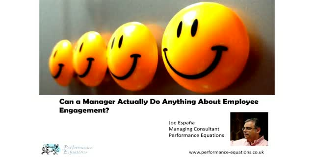 Can a Manager Actually Do Anything About Employee Engagement?