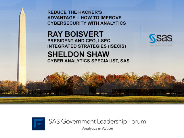 Reduce the Hacker's Advantage – How to Improve Cybersecurity With Analytics