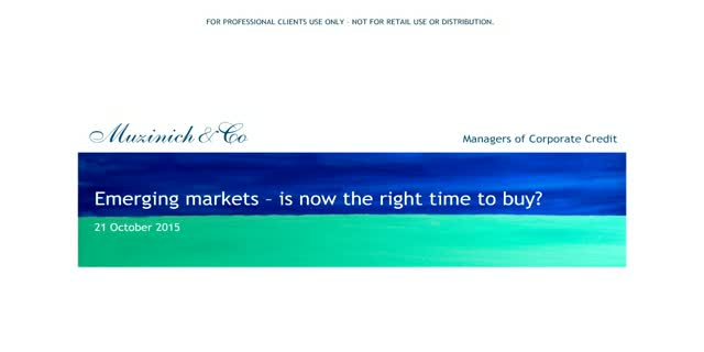 Emerging markets: is now the right time to buy?