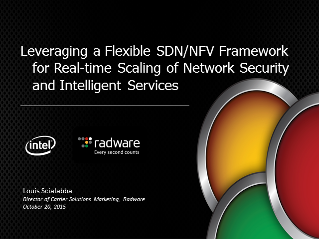 Real-World NFV Use Cases for Scalable Application Delivery Control & Security