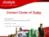 The Contact Centre of Today: How to Maximise it's Potential