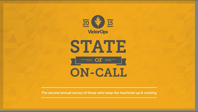 The State of On-call 2015: Is it getting better?