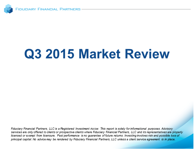 Q3 2015 Market Review