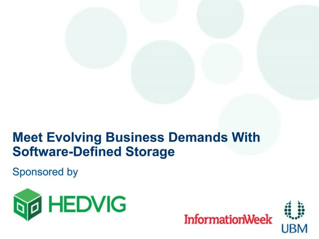 New Industry Research from Forrester - Time to Rethink your Storage Solution