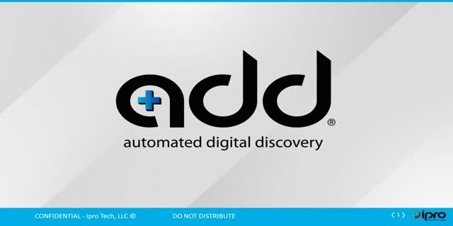 "EDRM webinar, ""What's Next in eDiscovery: Data Streaming,"" sponsored by Ipro"