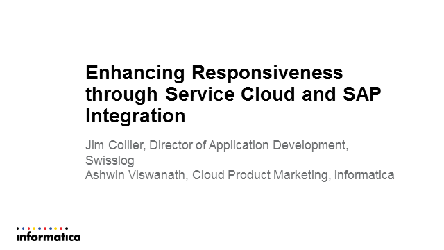 Enhancing Responsiveness through Service Cloud and SAP Integration