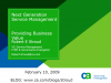 Next Generation Service Management – providing business service