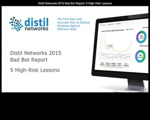2015 Bad Bot Report: 5 High-Risk Lessons